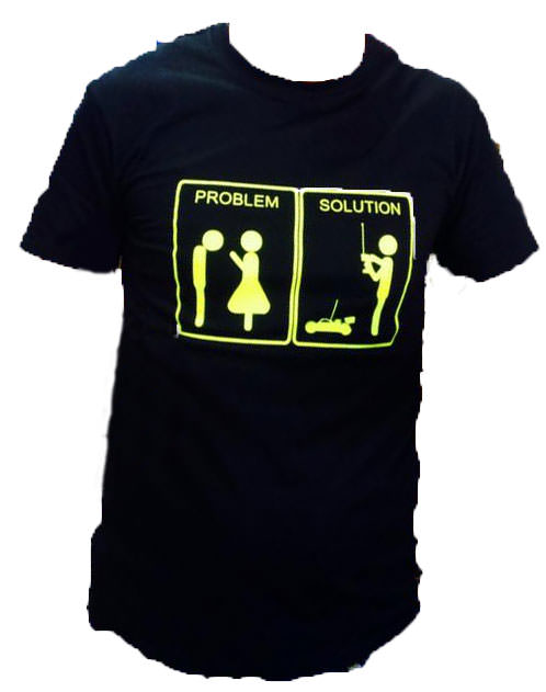 FastRace T-SHIRT PROBLEM-SOLUTION M