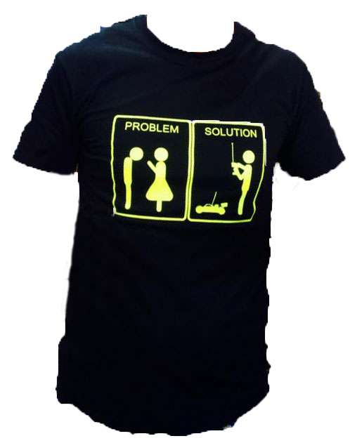 FastRace T-SHIRT PROBLEM-SOLUTION S