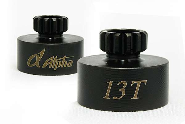 TU-E021048 Alpha campana frizione Off-Road HD 26,4 mm. (13T)