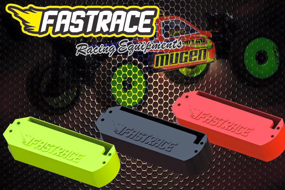 FR2305-MUR FastRace Porta batteria ABS V2 MBX7R Red