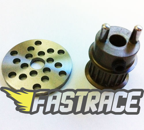 FastRace puleggia 18T HD + Disco freno Light per CRONO SP9