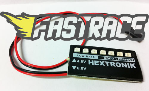 FastRace Battery Check per batterie 6.0V/4.8V