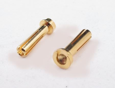 FR40BU 4.0mm Low Profile Bullect Connectors (4)