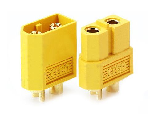 FR-XT60 Nylon XT60 Connectors Male/Female (1 pairs) GENUINE