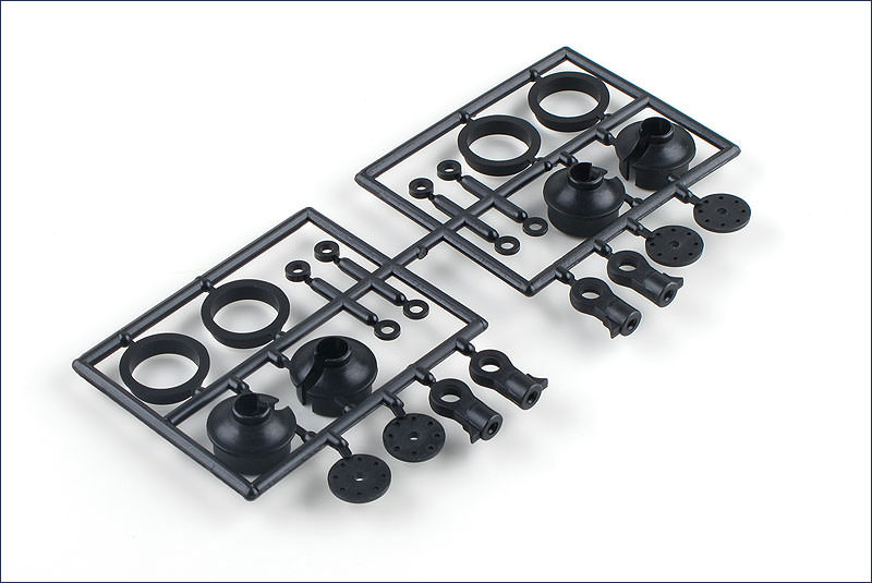 IF346-05C Kyosho MP9 uniball per ammortizzatori 4 pz.