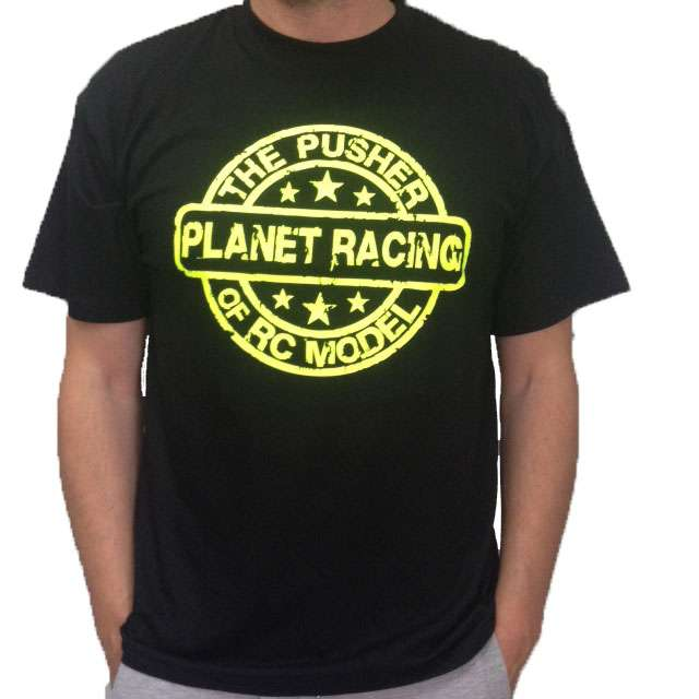 FR-TSPUSHER FastRace T-Shirt The Puscher PlanetRacing (M)