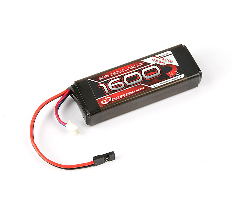 R05205 Robitronic Pacco batteria LiFE RX