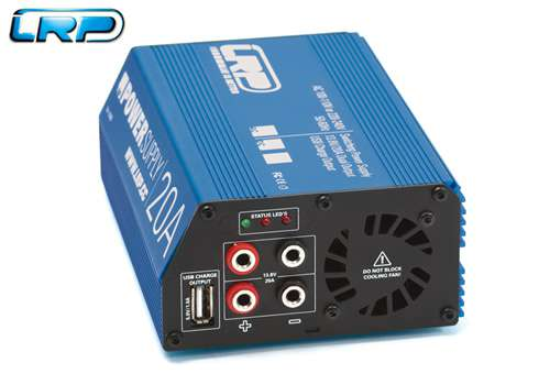 43200 LRP alimentatore Powersupply Competition 13.8V / 20A