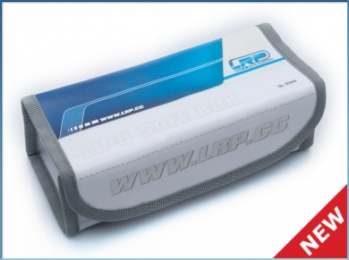 65848 LRP LiPo Safe Box - large 18x8x6 cm