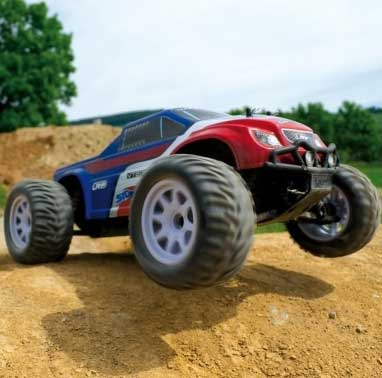 LRP S10 Blast MT RTR - 1/10 Electric Monster Truck RTR