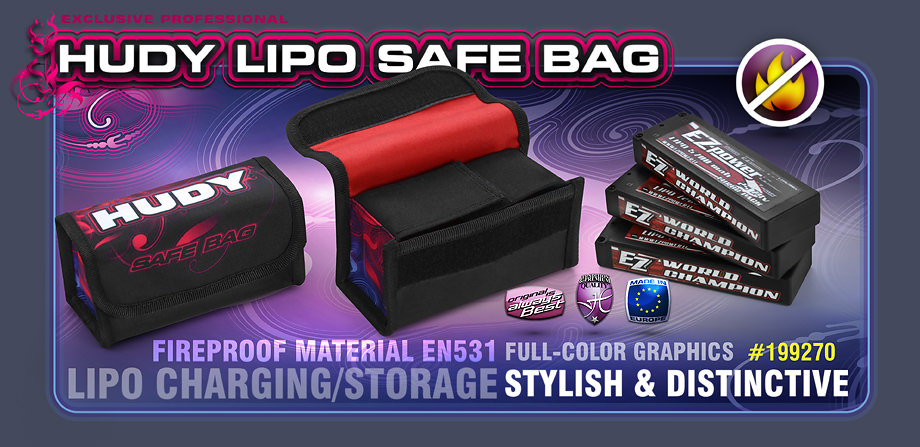 199270 HUDY LiPo Safety Bag