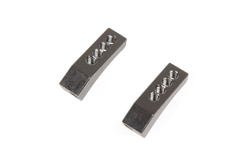 411021 Serpent S120 1/12 SUPPORT SERVO L + R  alu