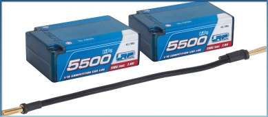 430225 LRP 5500 - Saddle Pack - 110C/55C - 7.4V LiPo