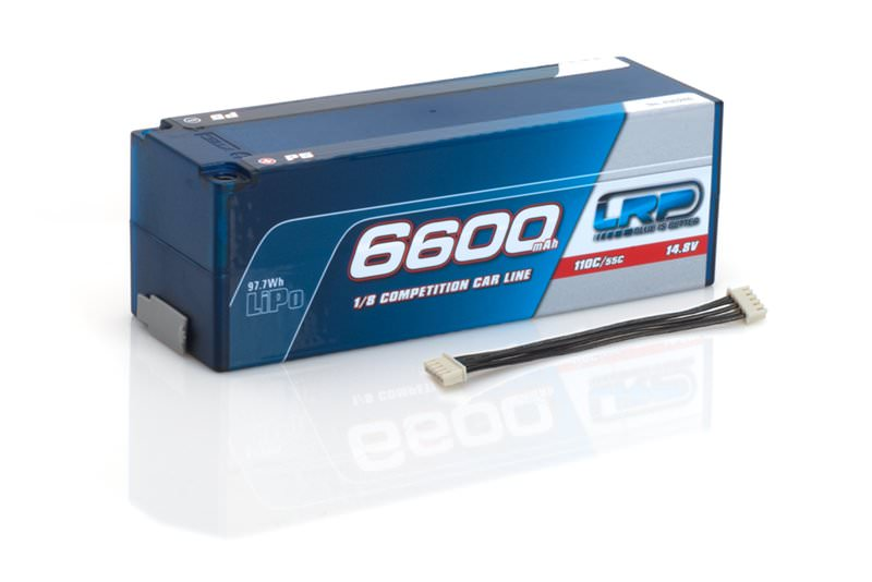 430246 LRP 6600 - 1/8 4S P5 - 110C/55C - 14.8V LiPo - 1/8 Competition