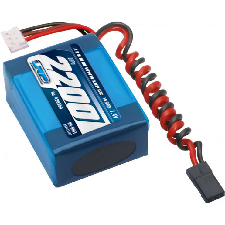 430350 LRP LiPo 2200 RX-Pack small Hump