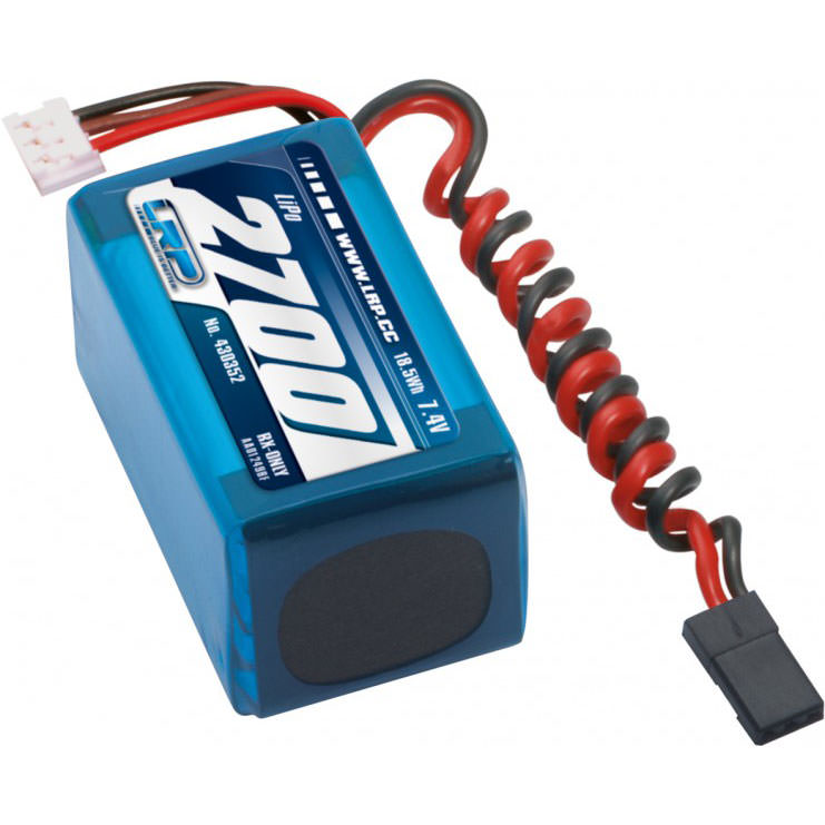 430352 LRP LiPo 2700 RX-Pack 2/3A Hump 7