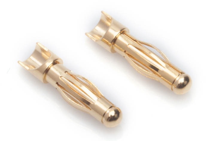 65816 LRP 4mm Gold universal connectors