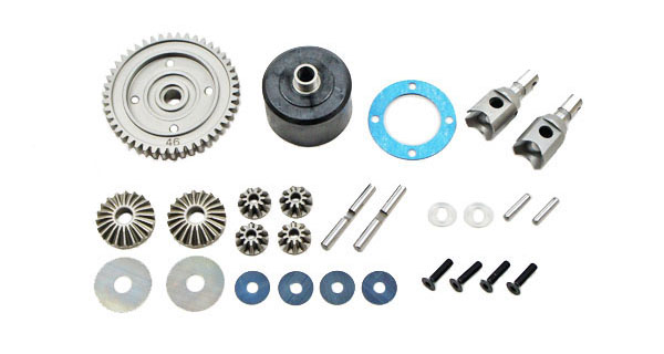 E2245 Mugen MBX7R KIT DIFFERENZIALE CENT