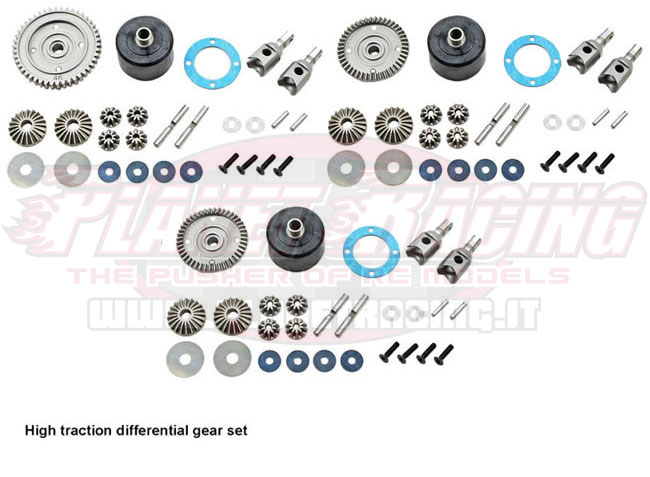 E2244-45 Mugen MBX7R KIT 3 DIFFERENZIALI