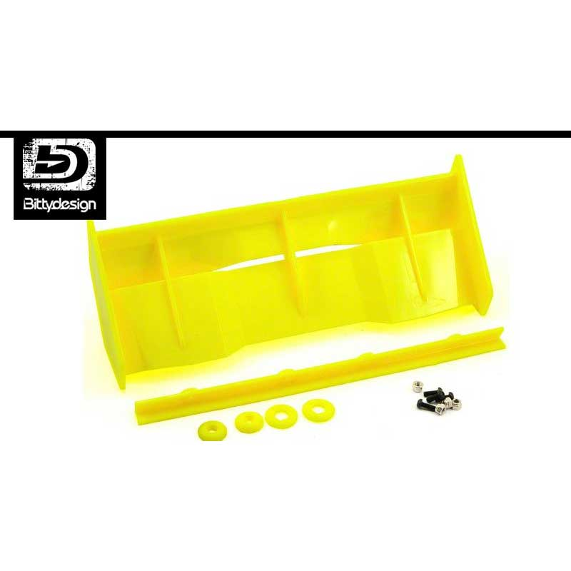 BDW-STHY BittyDesign STEALTH wing 1/8 buggy-truggy Yellow