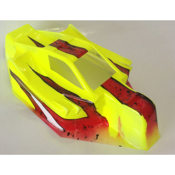 FROFF44A3 FastRace Carrozzeria verniciata Utrawing Asso RC8B3 Yellow - Red