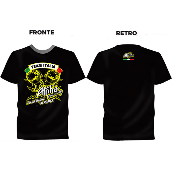 FastRace Alpha-RC T-SHIRT Team Italia XXL