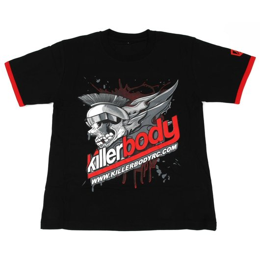 KB20003XL KillerBody t-Shirt Black XL 100% Cotone