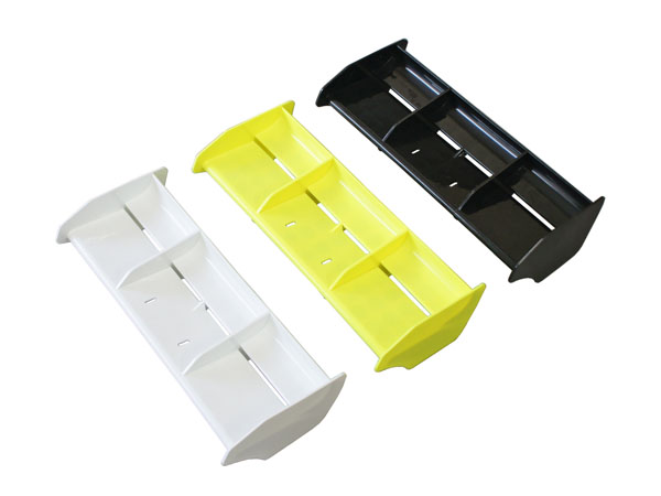E1069 Mugen MBX7R Wing Yellow Light weight high down-force wing (IFMAR legal)