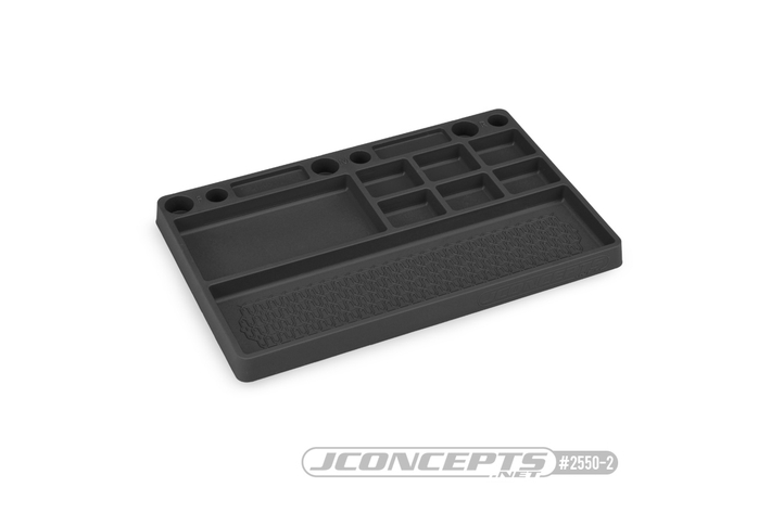 2550-2 Jconcepts PARTS TRAY, RUBBER MATE