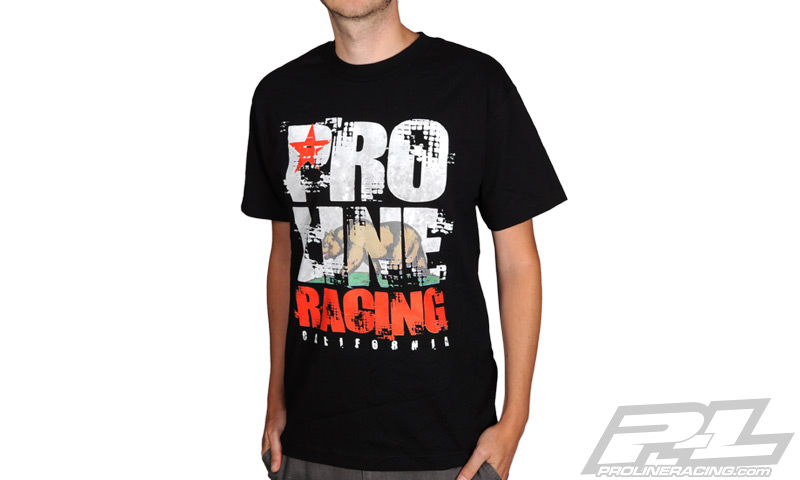 9994-04 PROLINE T-SHIRT CALIFORNIA BLACK -XL