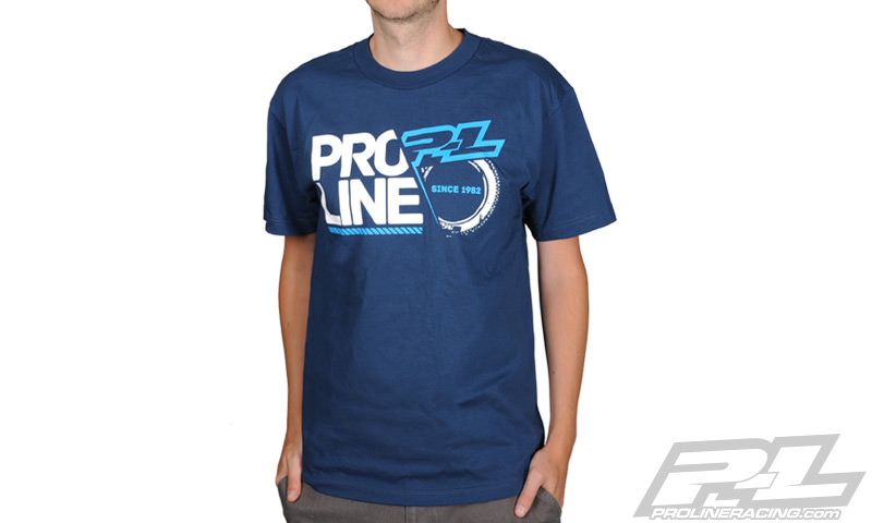 9997-02 PROLINE T-SHIRT BLU - MEDIUM