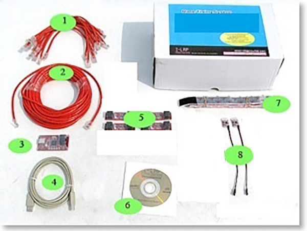 REDBEE-RC6006 Kit Completo Timing System per FPV Race Tracker