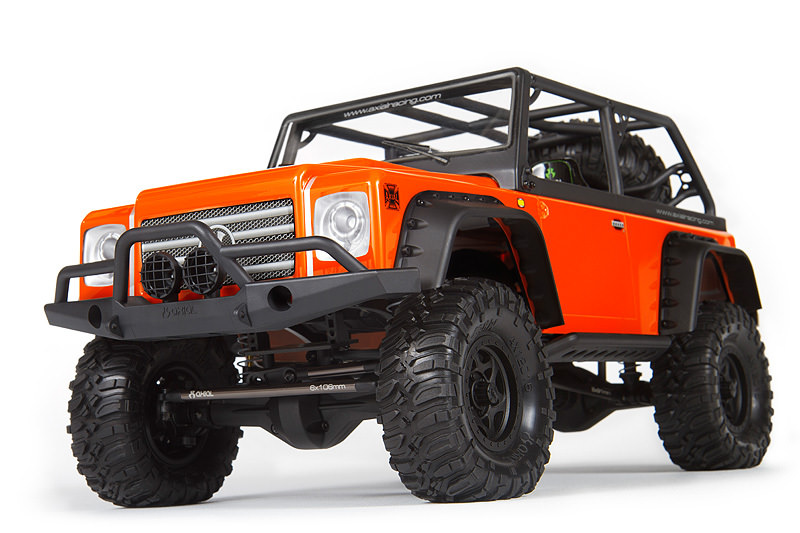 AX90021 Axial SCX10 Dingo 1/10th Scale Electric 4WD - Kit