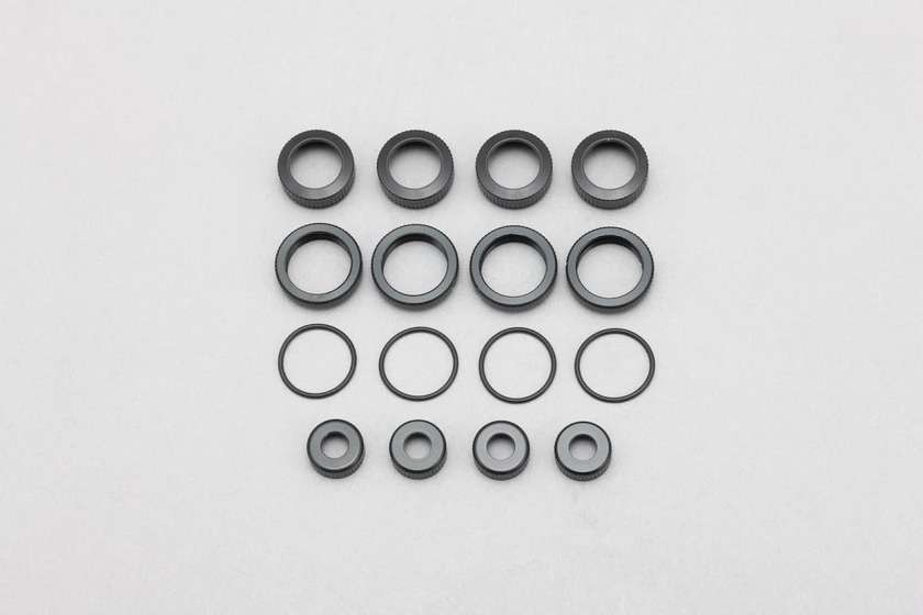 B7-S4C16 Yokomo BD7 O ring cap/Adjust nut/Shock cap nut for SLF Short shock II