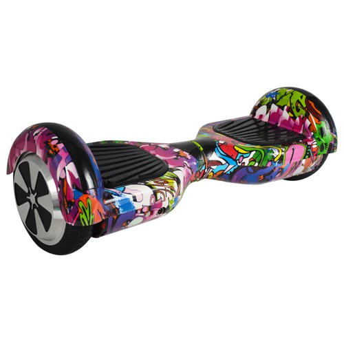 Z1110 Hoverboard da 6,5 pollici VIOLET HIP-HOP BALANCE SCOOTER WITH BLUETOOTH
