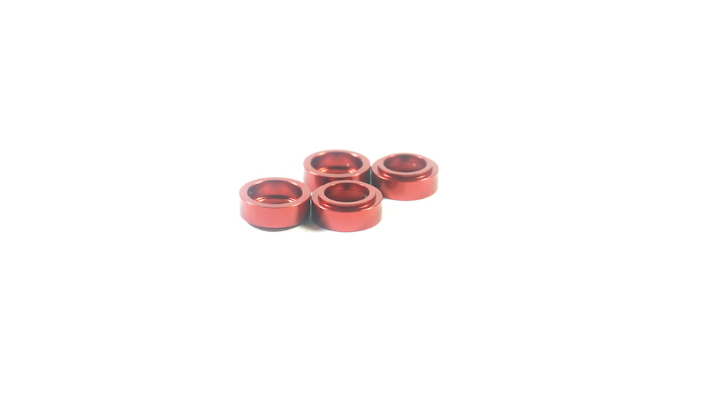 SW-338007 SWORKz 6mm Axle Aluminum Insert (4PC)