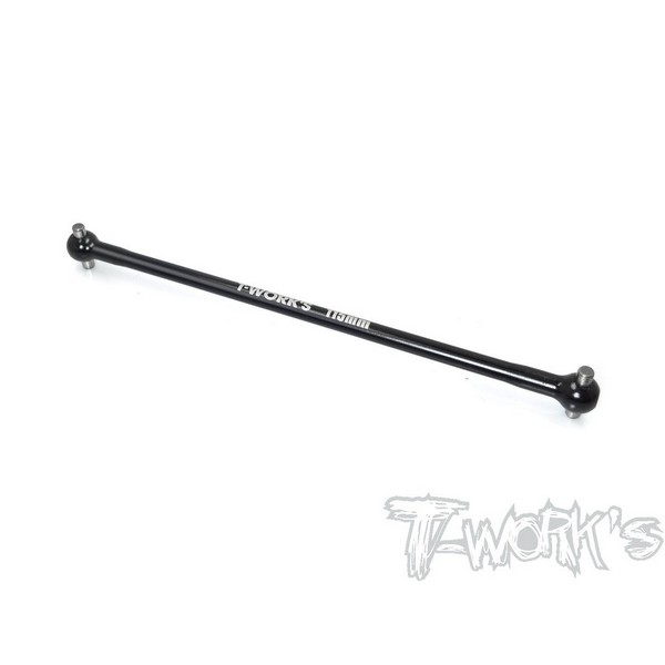 TO-223R-RC8 T-WORKS 7075-T6 Alum. CR Drive Shaft 115mm ( For Team Associated RC8 B3.1 )