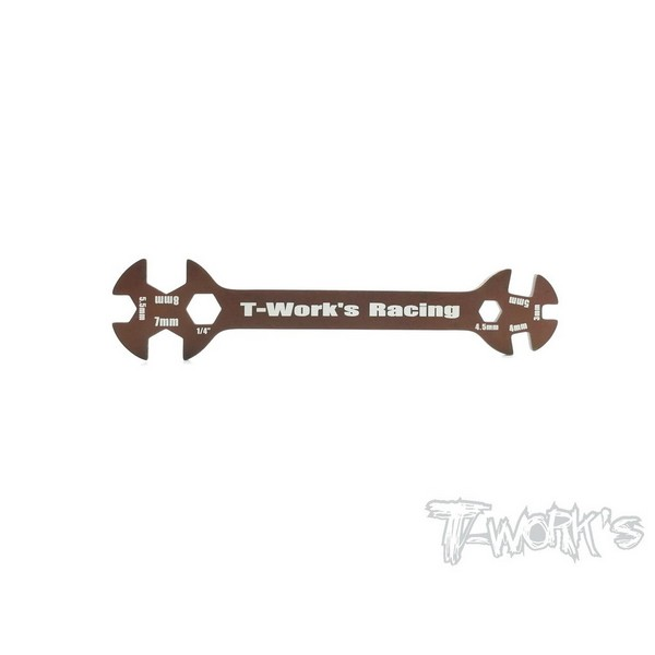 TT-041 T-WORKS Multiple Hex Spanner Wrench