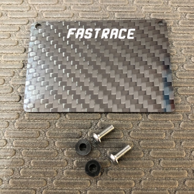 FR366HB Fast Race Carbon Fiber Fuel Tank Guard ( For HB Racing D817/ D817T/RGT8/D817 V2/D818/D819)
