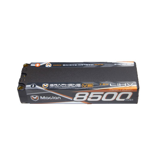 MCL6013 MACLAN 7,6V 8500mAh 120C Graphene V2 Stick Battery