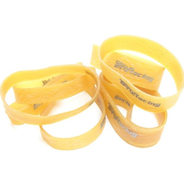 TP-662001 TPRO Natural Rubber Tire Band Package (12mm + 20mm Width)