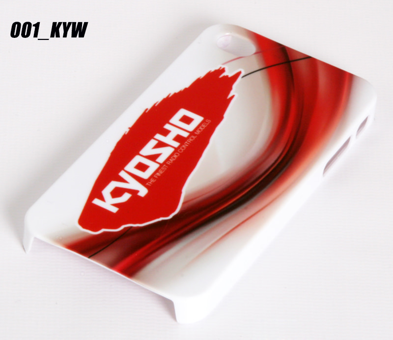 CP5_001-KYW FastRace Cover bianca Kyosho
