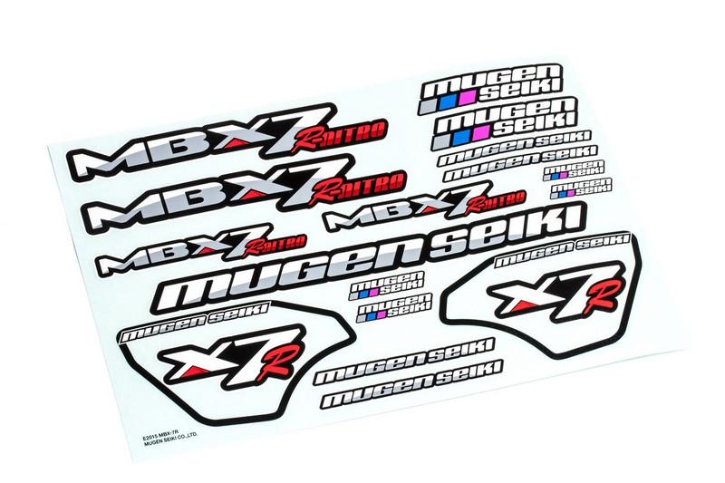 E1055 Mugen MBX7R DECAL SHEET