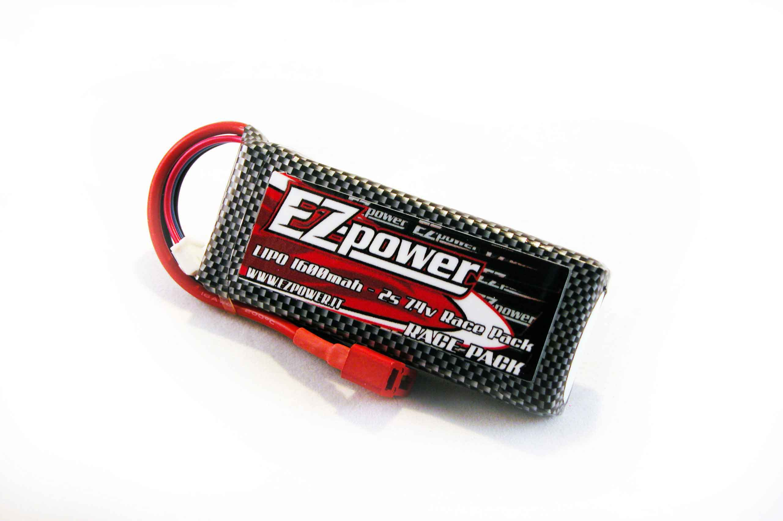 EZ-power BATTERIA LIPO 7,4V 1600MAH - 25C