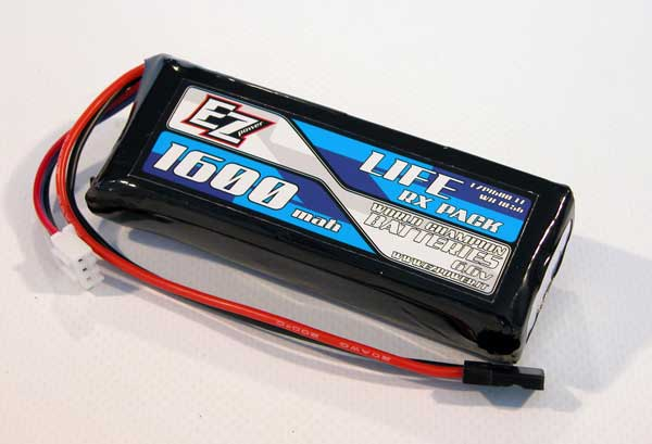EZ-Power PACCO BATTERIE RX 1600 MAH LIFE 6,6V