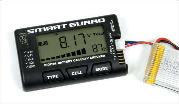 FR1228 Smart Guard tester batterie Li-Po/Ni-Cd/Ni-MH